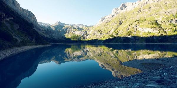 Tseuzier lake.