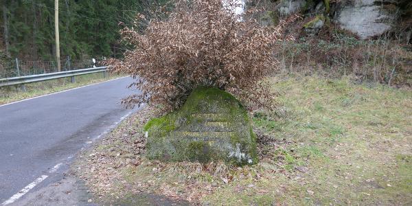 Speyerbrunn Ritterstein Nr. 254 Speyerbach-Ursprung