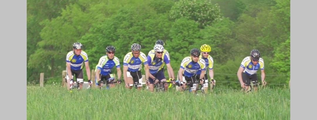 Rennradtour rund um die Tagebauten der Region