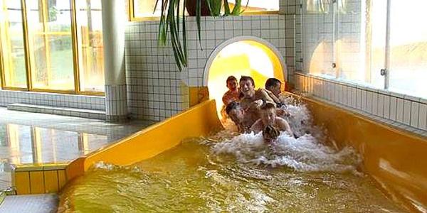 Riesenrutsche  Erlebnisbad Paulsdorf