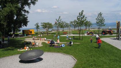 Spielplatz Schlosswiese im Seepark Arbon