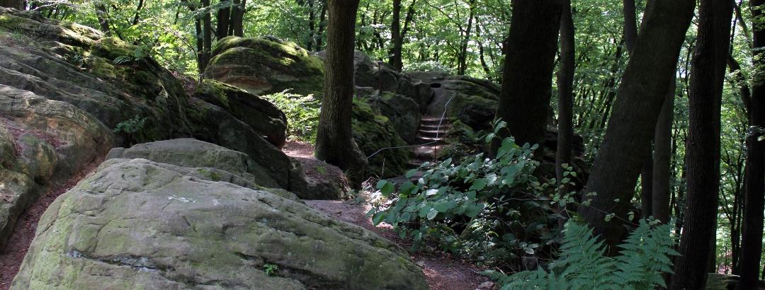 Die Hexenküche lädt zum Klettern ein