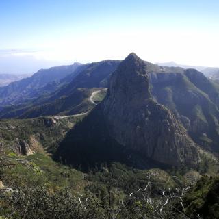 Blick zum Roque Agando