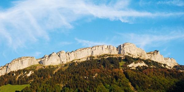 Blick zurück von Wasserauen Richtung Alp Sigel.