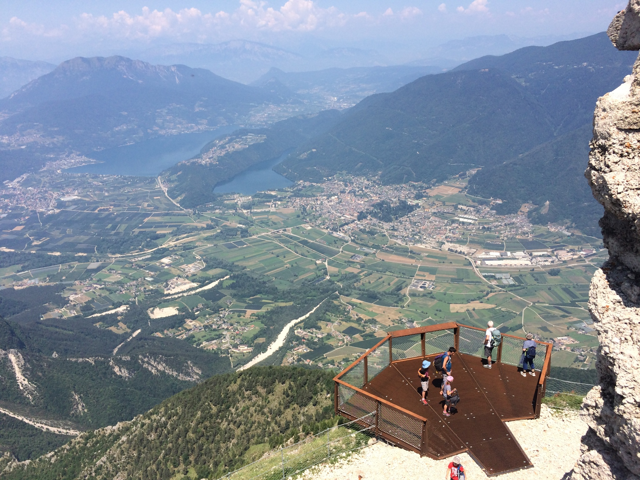 The Vezzena Highlands And Pizzo Di Levico Fort Mountain