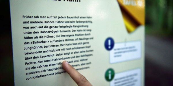 18 Stationen entführen in die Welt der Fabeln.