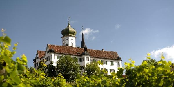 Das Schloss Herdern ist das Wahrzeichen des gleichnamigen Ortes.