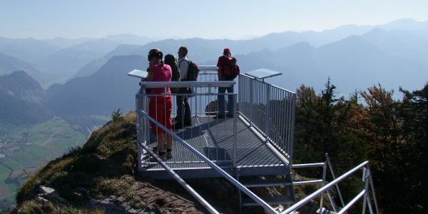 Aussichtsplattform Pizalun