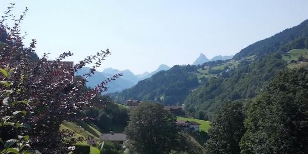 Panorama vor dem Haus