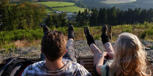 Wandererlebnis am Sauerland-Höhenflug