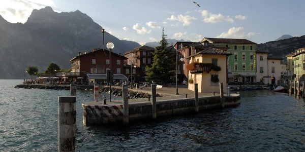 The little harbour in Torbole