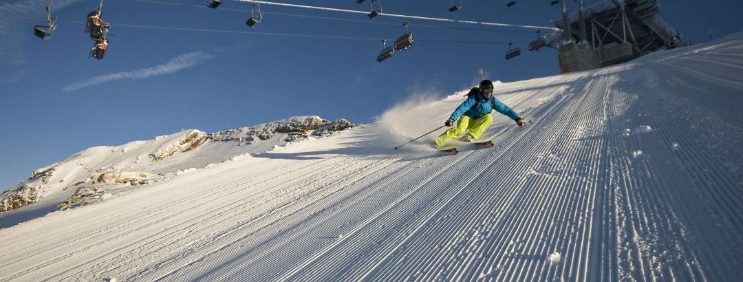 Skifahren auf dem Mölltaler Gletscher
