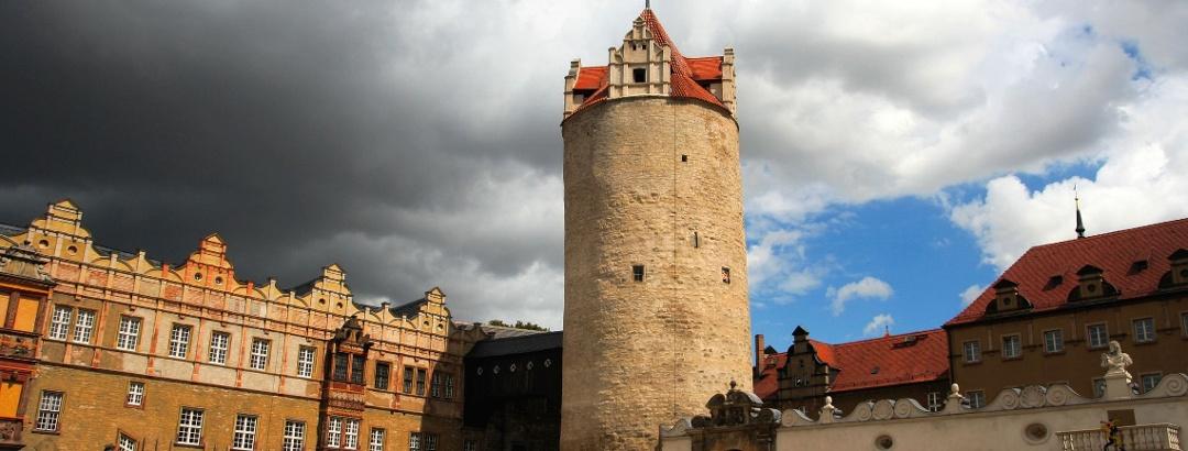 Eulenspiegelturm des Schlosses Bernburg