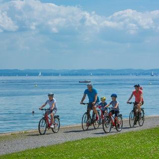 Wunderbare Aussicht am Bodensee