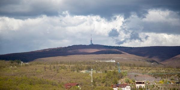 Der Aussichtsturm von Sástó