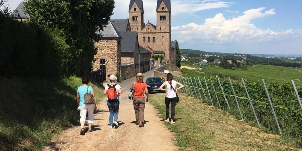Wandern auf dem Pilgerweg