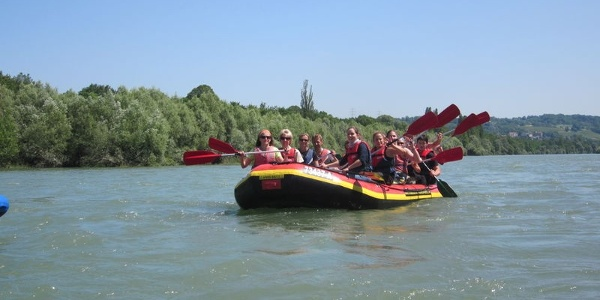 Rafting Frontansicht
