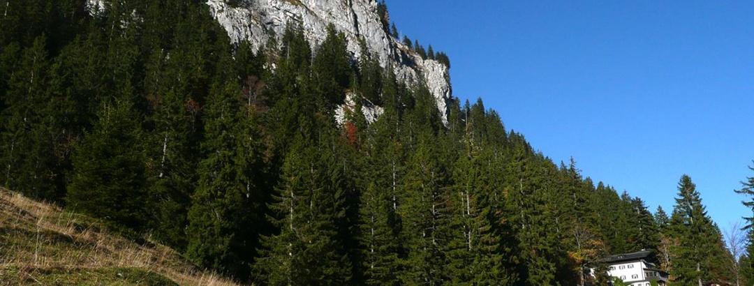 Klettertour auf den Brünnstein