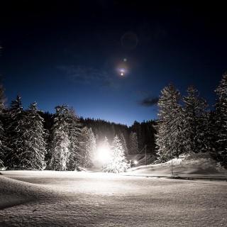 Nachtloipe Bual