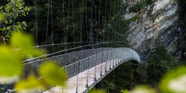 Hängebrücke Silgin