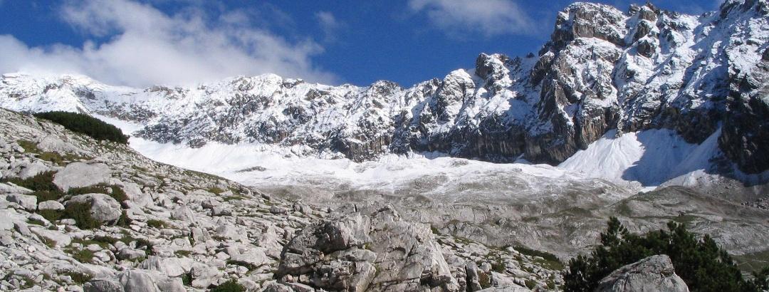 Felsenlandschaft Zugspitzplatt