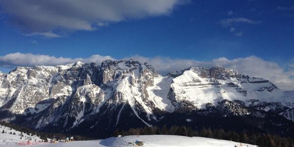 la Val Gelada vista dal versante opposto