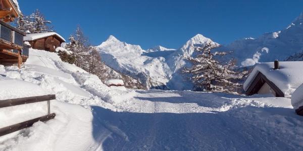 Schneeschuwandern Rosswald
