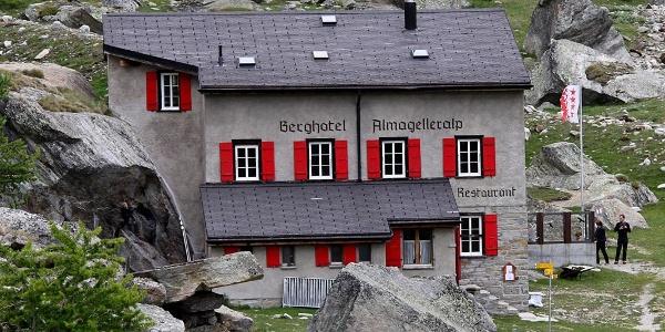 Berghotel Almagelleralp.