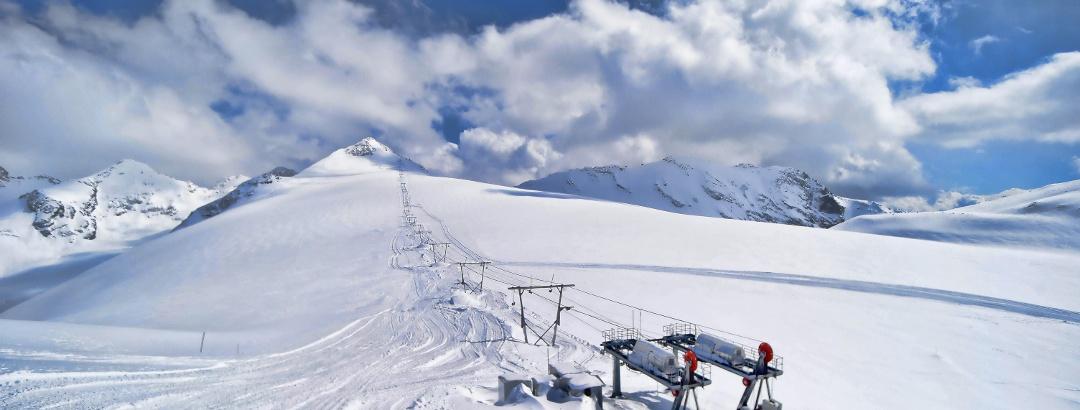 Das Skigebiet Stilfser Joch