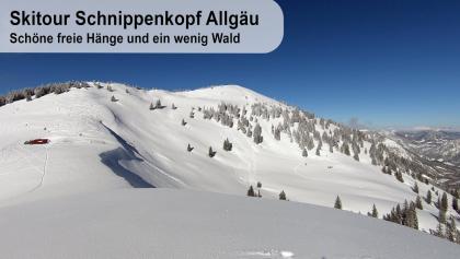 Skitour Schnippenkopf - Allgäu