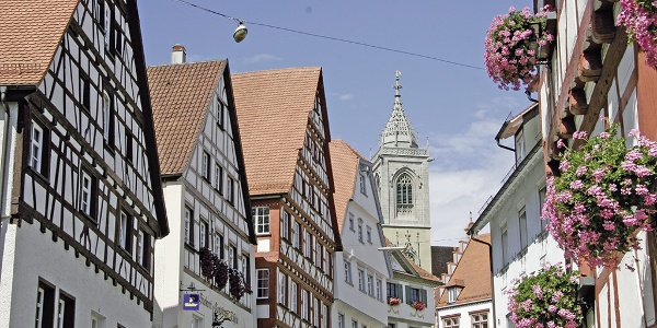 Fachwerkhäuser in Pfullendorf