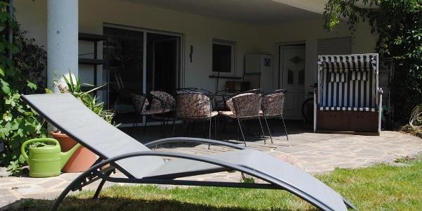 Fewo Moseltraum: Terrasse