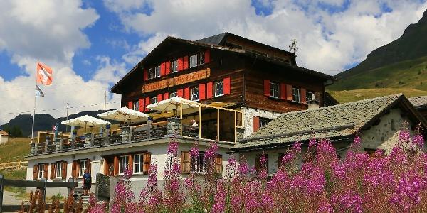Berghaus Piz Platta.