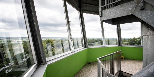 Blick vom Aussichtsturm Deutscher Olymp