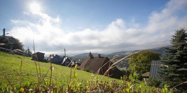 Blick auf Klingenthal