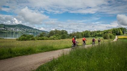 Auf dem Radweg zwischen Aesch und Meisterschwanden