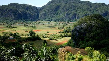 Ausblick auf das Viñales Tal