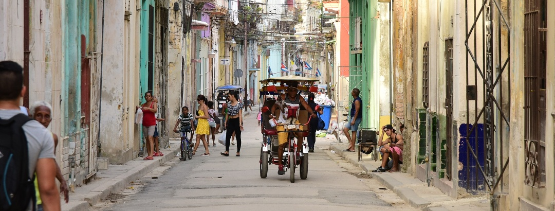 Blick in die Gassen der Metropole Havanna