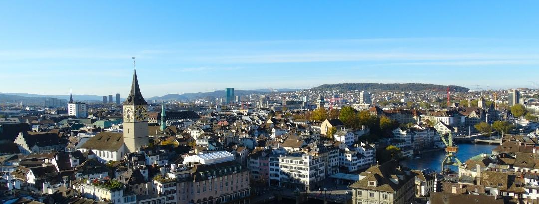View of Zurich City