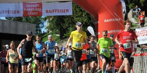 Aletsch Halbmarathon - Start