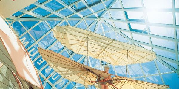 Beeindruckende Zeitzeugen: Flugmodelle im Otto-Lilienthal-Museum in Anklam