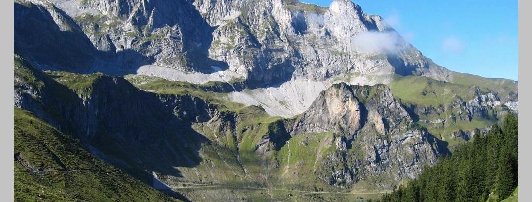 Der Bannalpsee im Kanton Nidwalden