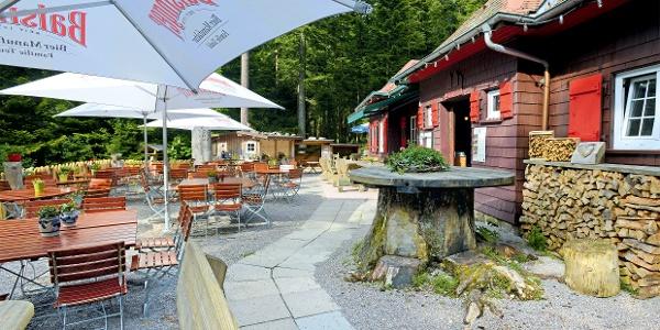 Waldcafé Biergarten