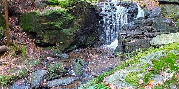 Muglbach-Wasserfall bei Neualbenreuth