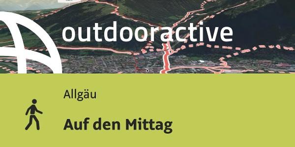 Hiking in Allgäu: Climbing Mittag