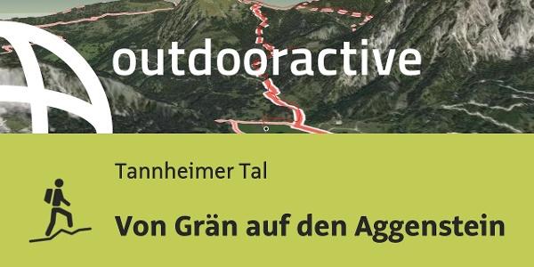 Bergtour im Tannheimer Tal: Von Grän auf den Aggenstein