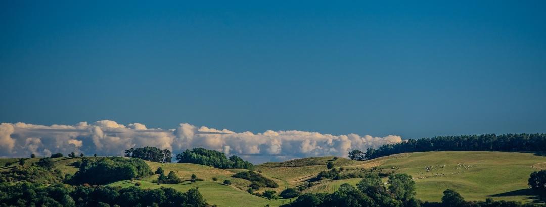 Die Weite der Natur-Blick auf die Halbinsel Mönchgut