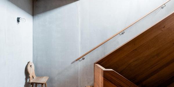 Treppenaufgang der Lindauer Hütte