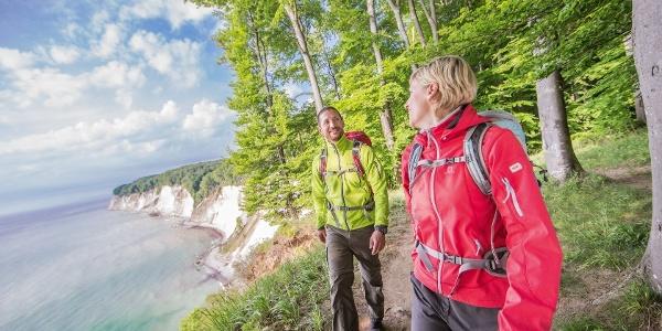 Wandern über den Kreidefelsen Rügens