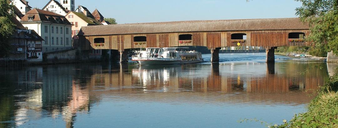 Rheinbrücke von Gailingen nach Diessenhofen (CH)
